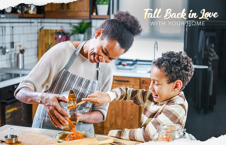 Fall back in love with your home