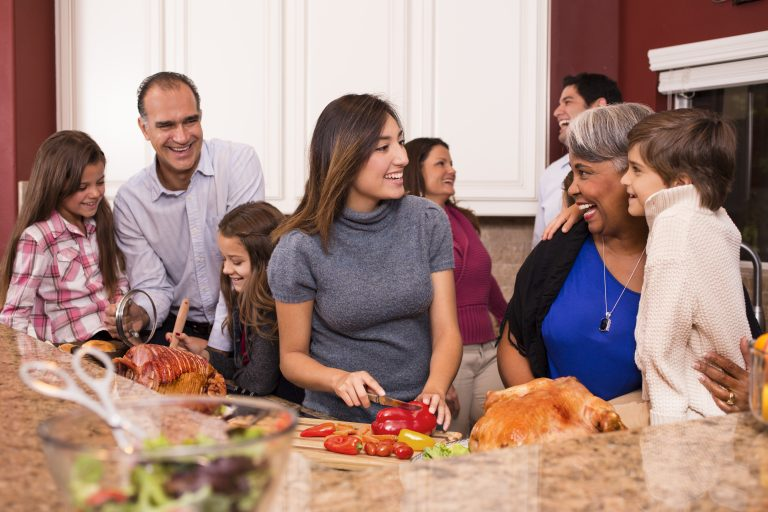 According to the American Farm Bureau Federation, the average host cooking a Thanksgiving dinner for
