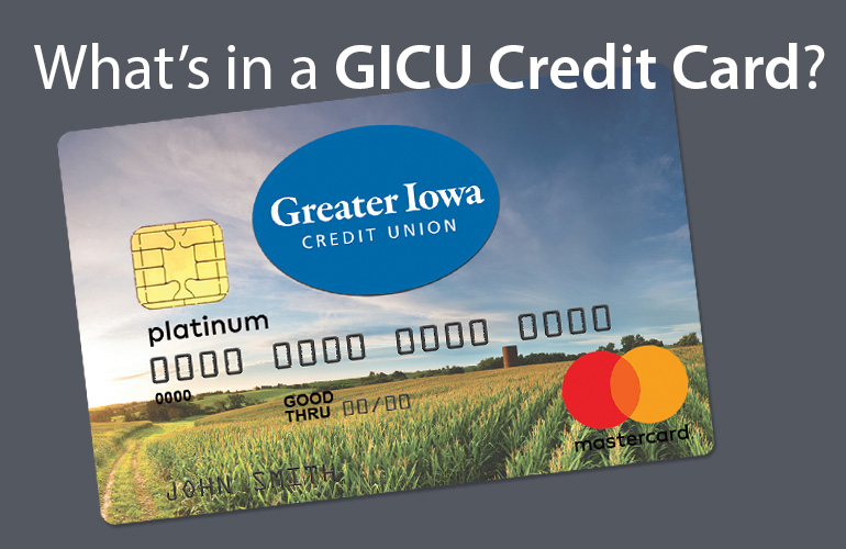What's in a GICU Mastercard Credit Card?