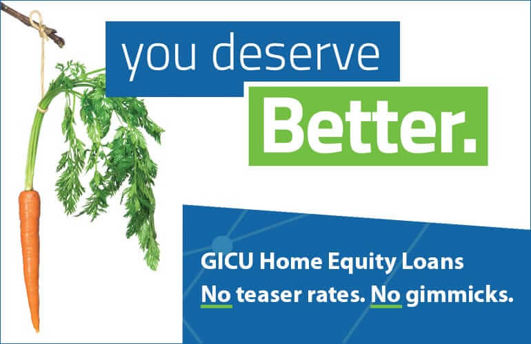 Home Equity Loans you can budget for, plus a VISA gift card