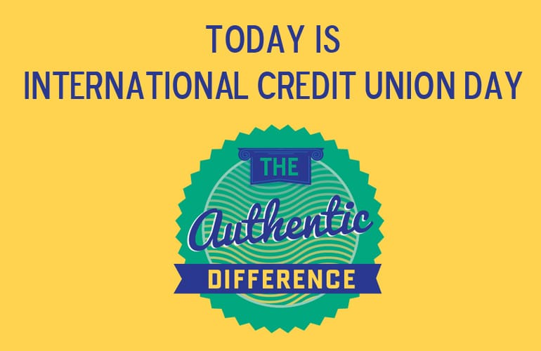 October 20 is International Credit Union Day